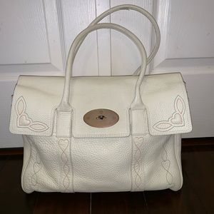 Mulberry Bayswater Pebble Leather Tote Bag